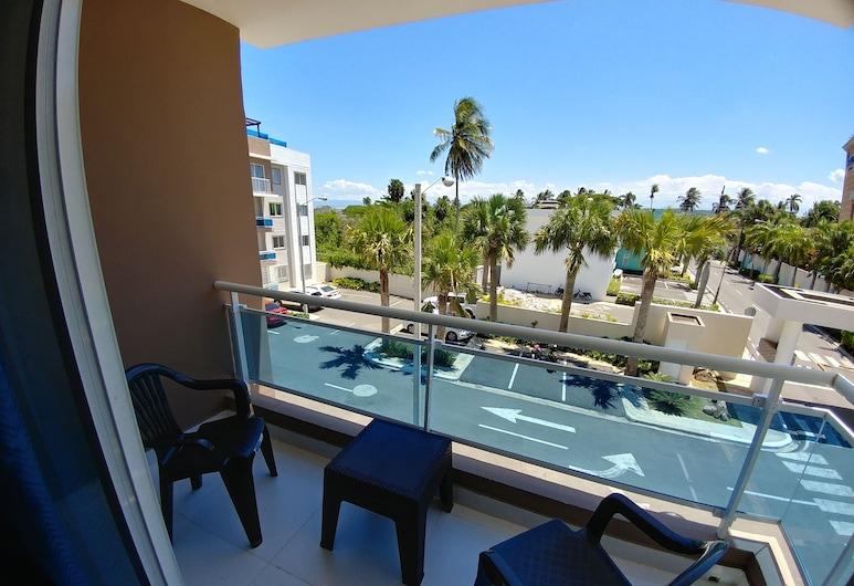 Tropical Condo BBQ Pool 5min to Airport, Puñal, Apartament, Wiele łóżek, Balkon