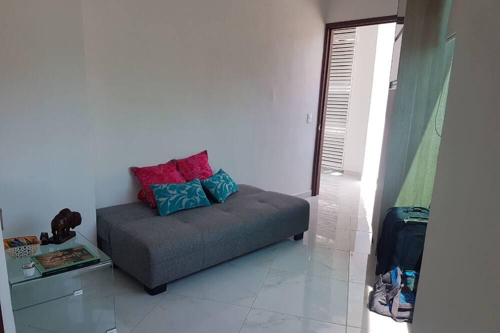 公寓, 1 間臥室, 非吸煙房, 山景 - 客廳