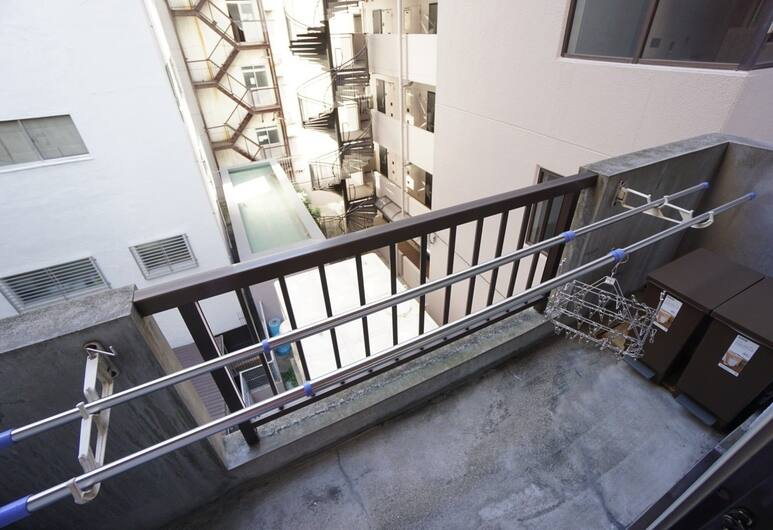 Apartment Takamatsu DOR0075E, 大阪市, ルーム, バルコニー