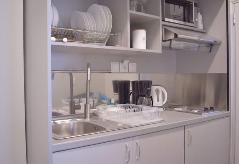Kavalloti Place, Αθήνα, Διαμέρισμα, 1 Υπνοδωμάτιο, Μπαλκόνι (K6), Ιδιωτική μικρή κουζίνα