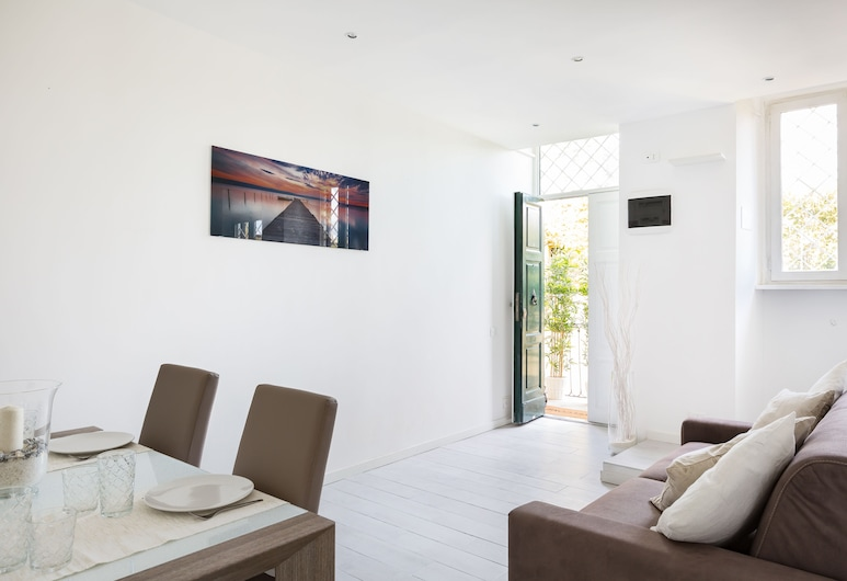 The Imperial Suite, Rome, Apartment, 3 Bedrooms, Living Room