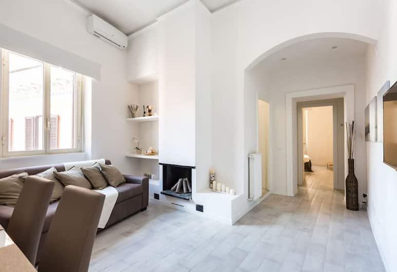 The Presidential's Suite, Rom, Lägenhet - 1 sovrum, Vardagsrum