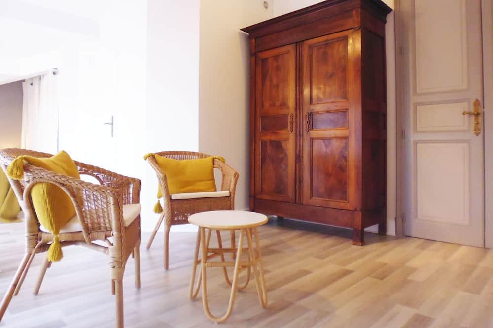 Double Room, Garden View (Les Genêts) - Living Area