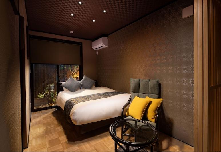 TSUMUGI KAMOGAWAGOJO, Kyoto, Deluxe Japanese and  Western Style Room (Ground Floor), Room