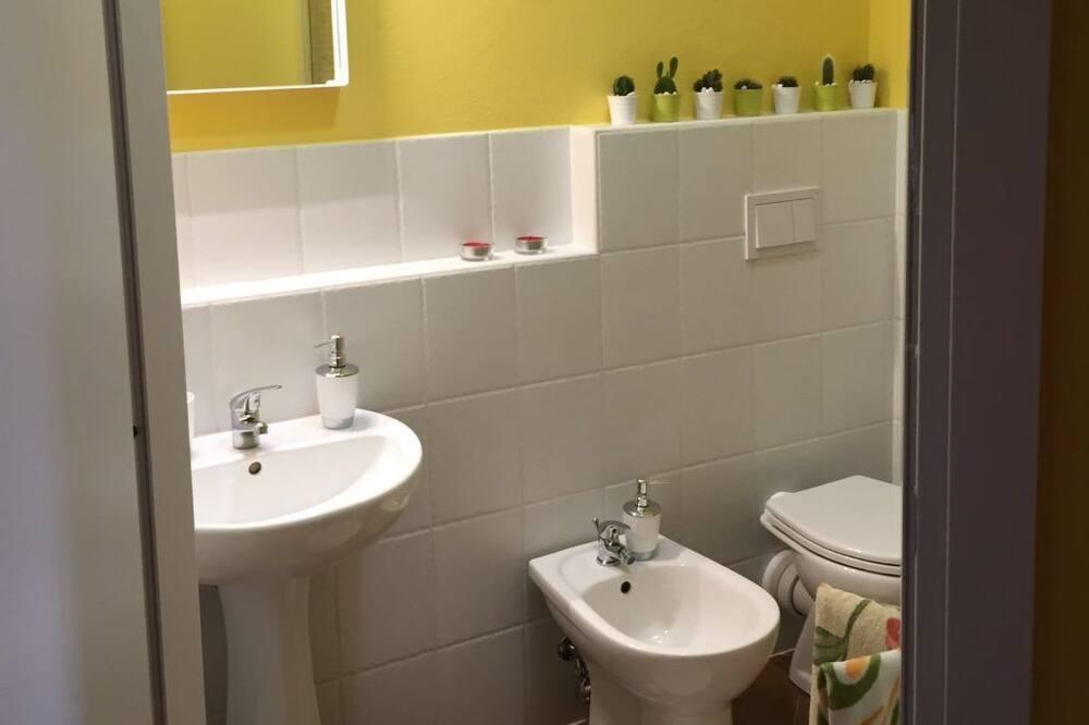 Chambre Familiale, plusieurs lits (Zecchini) - Salle de bain