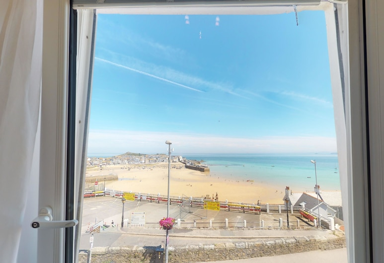 The Golden Hind, St Ives, Chambre Double Deluxe, vue port, Chambre