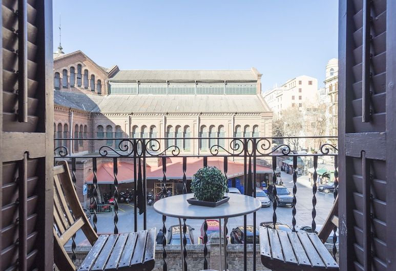 Apartamento Mirall, Barcelona, Apartemen, 3 kamar tidur, pemandangan kota, Balkon