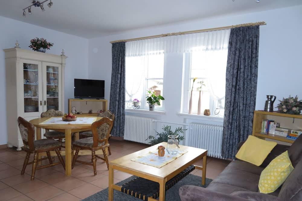 Family Apartment (Reiterschau) - Living Area