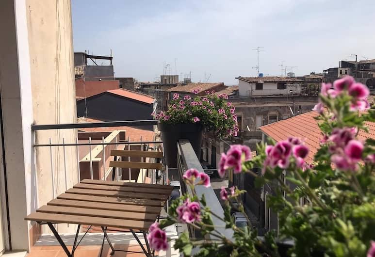 La Dimora delle Muse, Catania, Camera doppia, bagno privato (External), Balcone