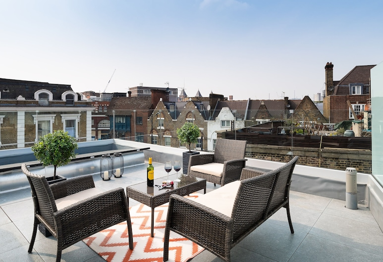 Luxury Penthouse Camden Town, London, Terrasse/Patio