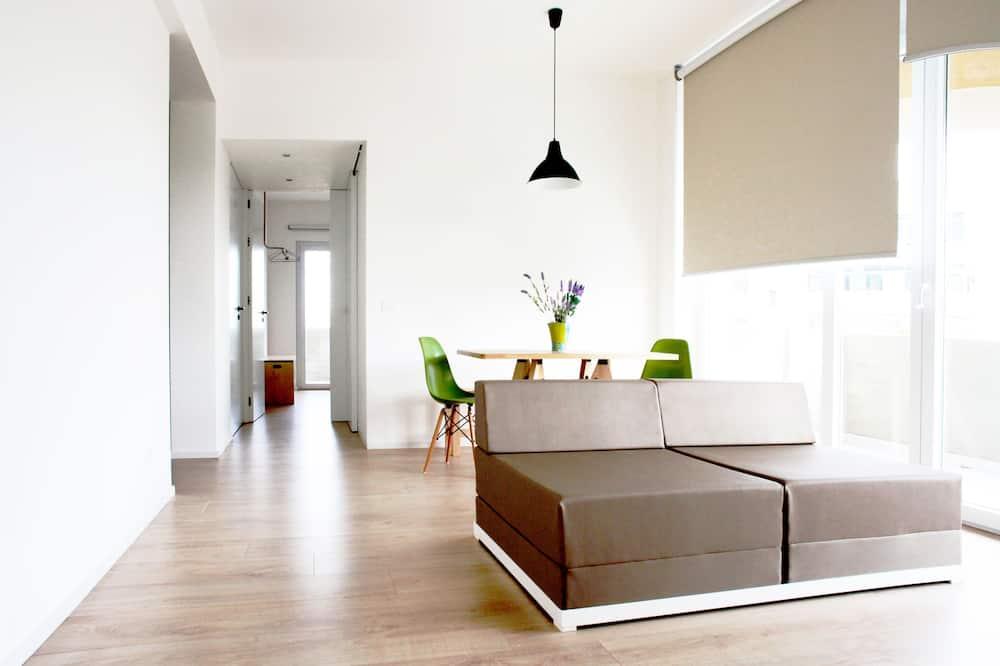 公寓, 2 間臥室, 山景 - 客廳