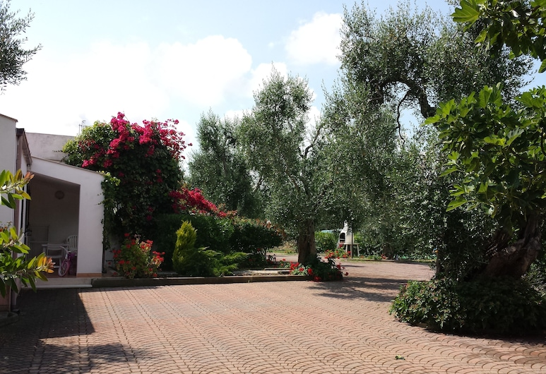 Residence Alba, Vieste, Территория отеля
