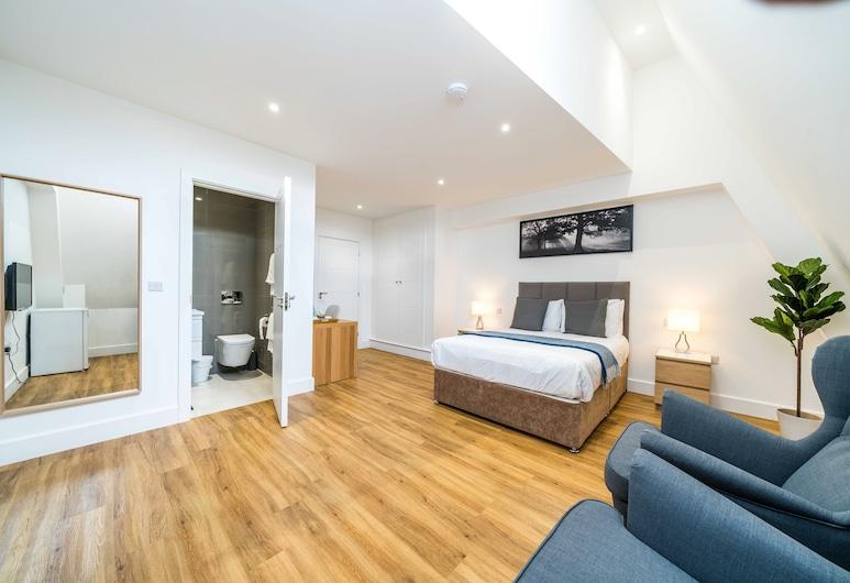 London City View, Λονδίνο, Δίκλινο Δωμάτιο (Double), 1 King Κρεβάτι, Μπάνιο στο δωμάτιο, Δωμάτιο επισκεπτών