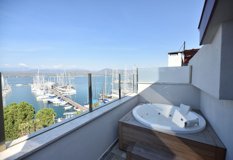 La Farine Hotel, Fethiye, City view from property