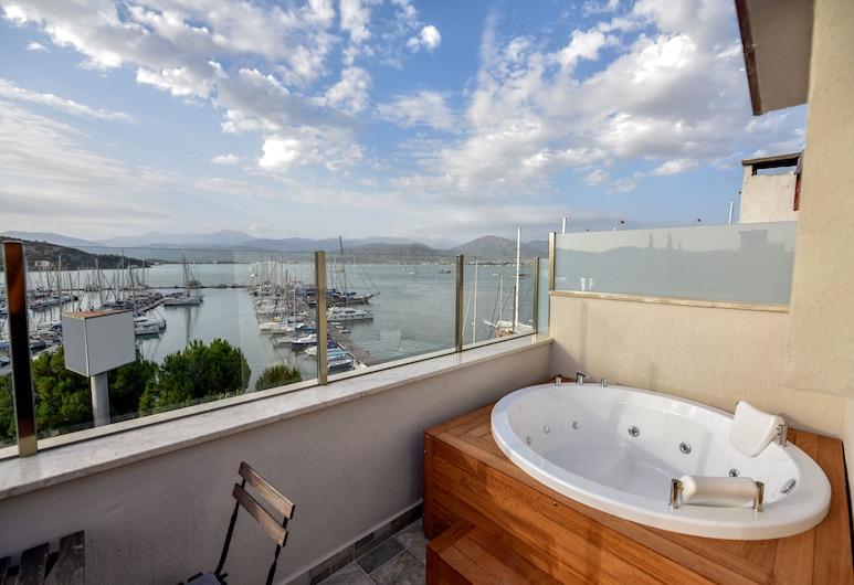 La Farine Hotel, Fethiye, Deluxe Süit, Deniz Manzaralı, Balkon
