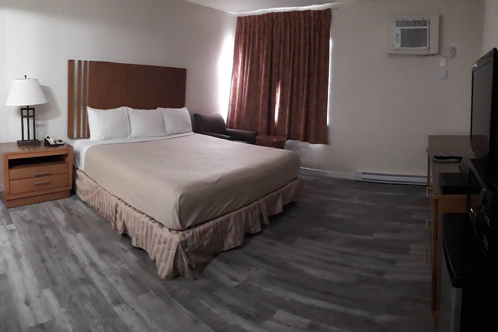 Izba, 1 extra veľké dvojlôžko, nefajčiarska izba, kuchyňa - Obývačka