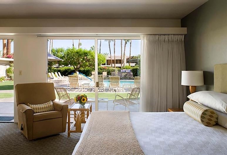 沙漠山丘旅館, 棕泉市, 極品開放式客房, 客房