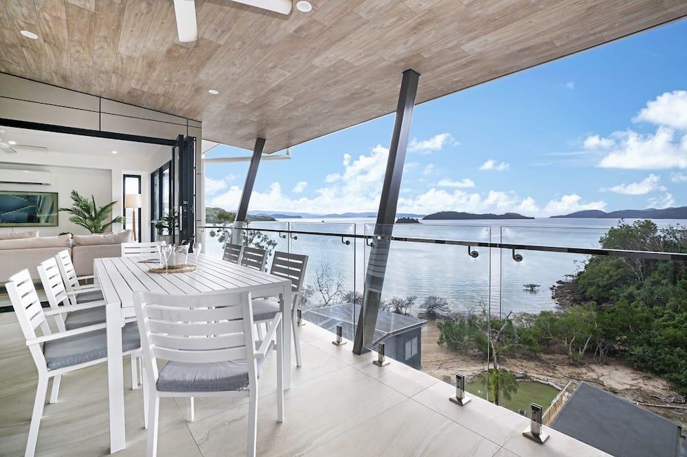 Luxury-huvila, Merinäköala - Parveke