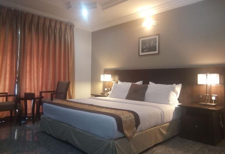 Noktel Resort Apartment - Wuye , Abuja, Dvojlôžková izba typu Executive, Hosťovská izba