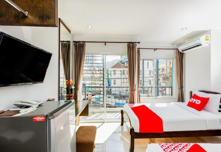 OYO 땅쳉 홀리데이 호텔, 파통, 스탠다드 트윈룸, 객실 전망