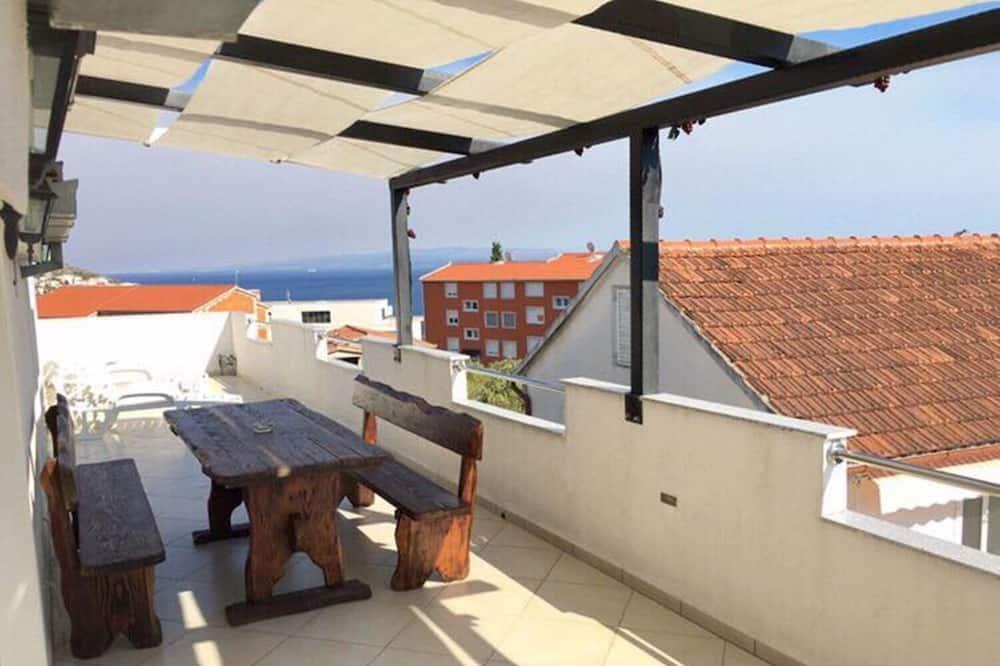Luxury Two-Bedroom ap. with terrace M6 - Balcony