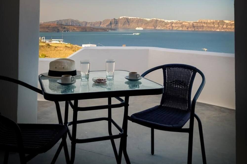 Dvojlôžková izba, výhľad na more - Balkón