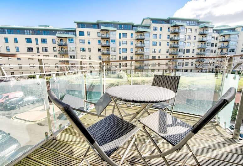 Delightful Two Bed Apartment At The Shore, Edinburgh, Balkon