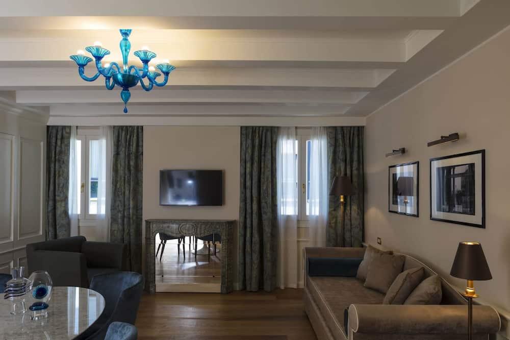Apartment, 1 Schlafzimmer (Residenza Ducato 30) - Wohnbereich