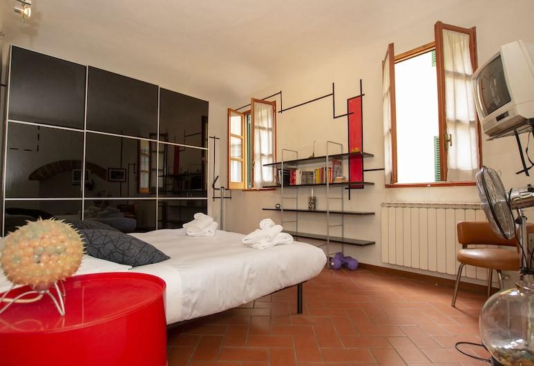 Porcellana Art, Florence, City Apartment, 1 Bedroom, Terrace, City View, Room