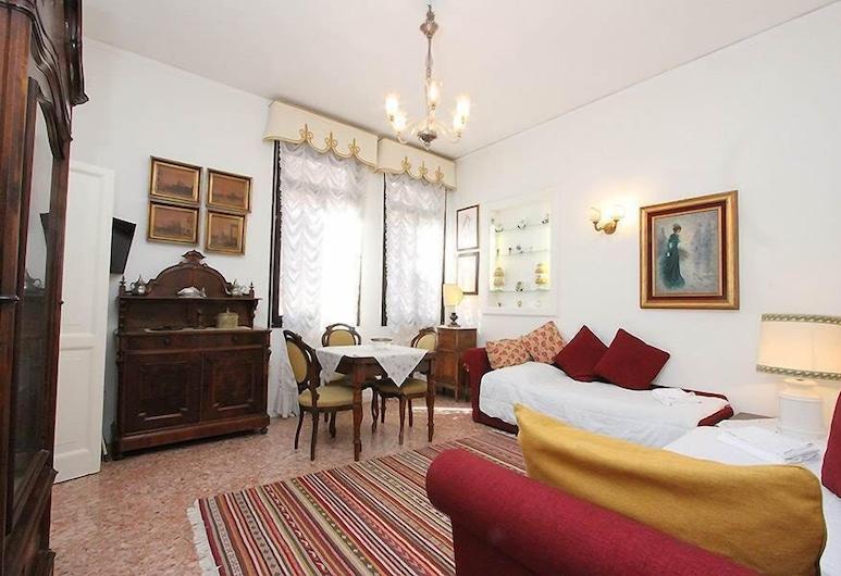 City Apartments - Pisani, Benátky, Apartmán, 1 ložnice, Obývací pokoj