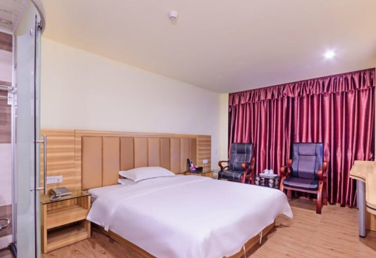 江夏商務酒店, 廣州市, 豪華大床房, 客房