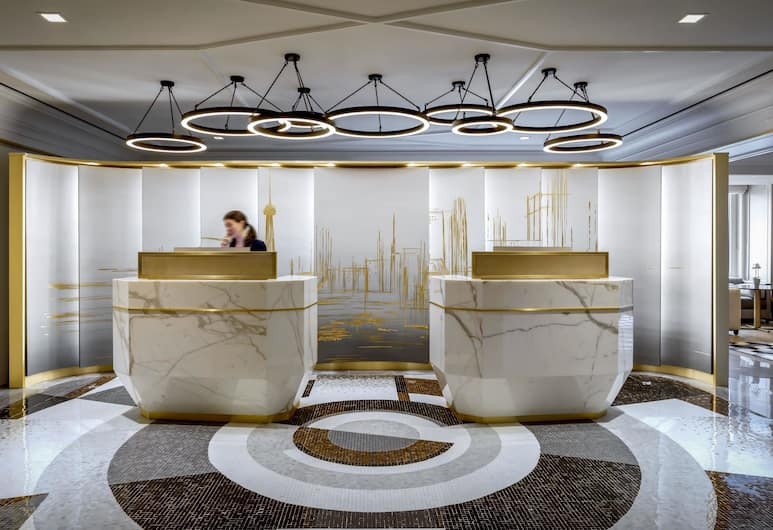 Fairmont Royal York Gold Experience, Toronto, Vastuvõtuala