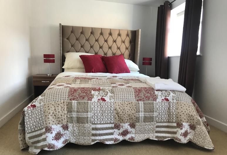 The Shepherd's Lodge, Shrewsbury, Luxury Double Room, Ensuite (Room 4), Room