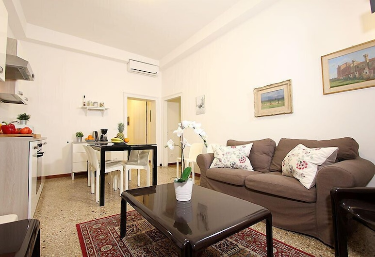 City Apartments - Calice, Venetsia, Huoneisto, 2 makuuhuonetta, Oleskelualue