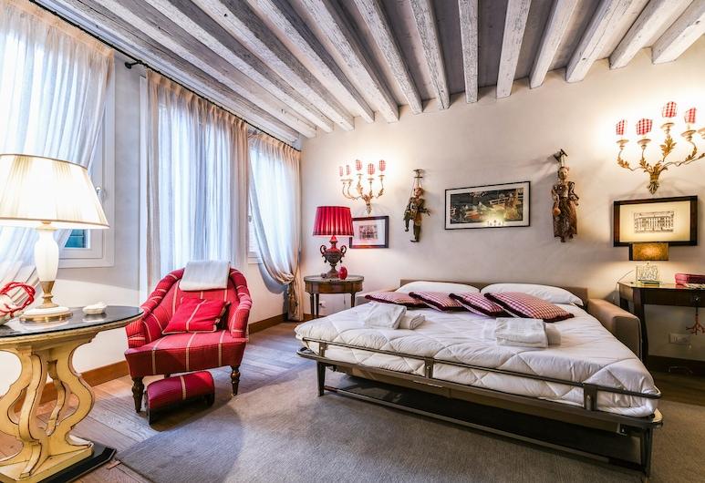 Fior di Loto, Venedig, Apartment, 1 Schlafzimmer, Wohnbereich