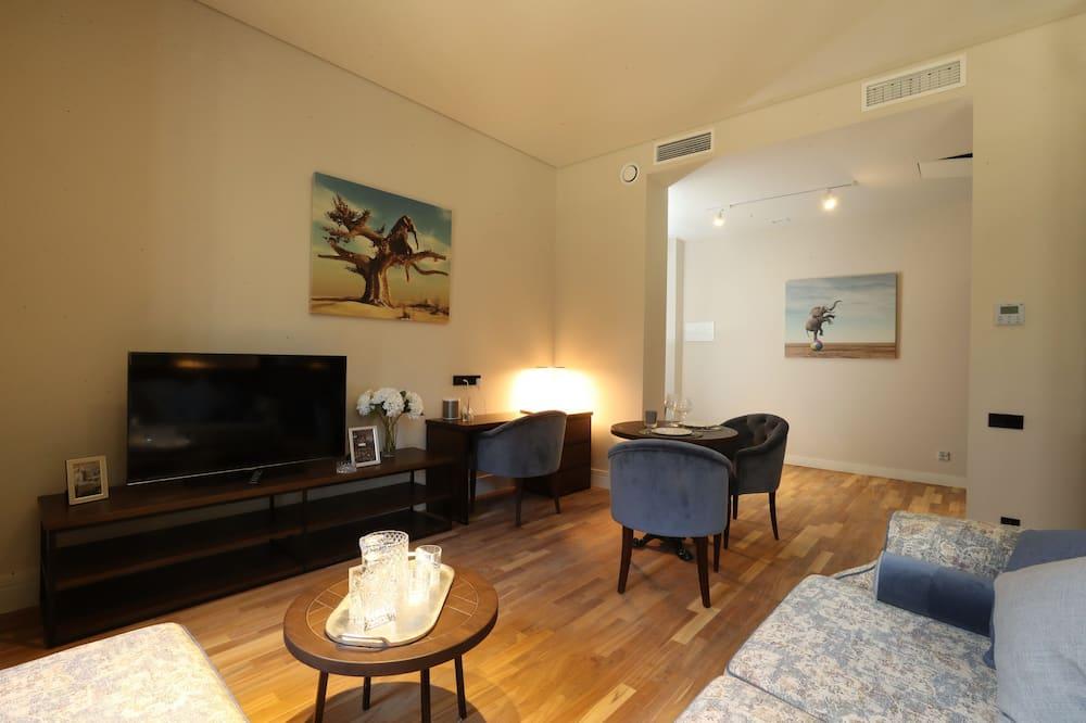จูเนียร์อพาร์ทเมนท์ (Smart) - ห้องนั่งเล่น
