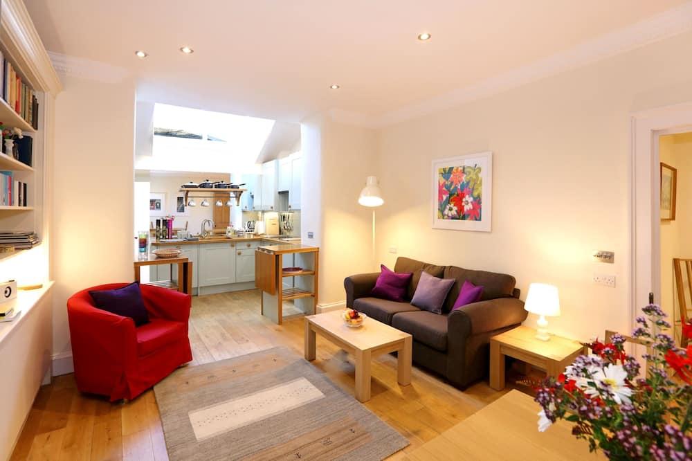 Design-Apartment, 1 Schlafzimmer - Wohnzimmer