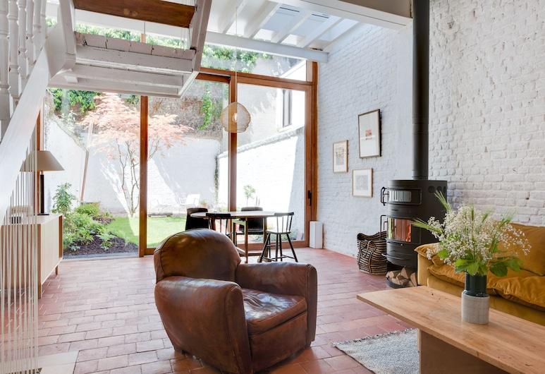 布魯塞爾建築師之家芙拉格歐洲飯店, 布魯塞爾, 豪華獨棟房屋, 客廳
