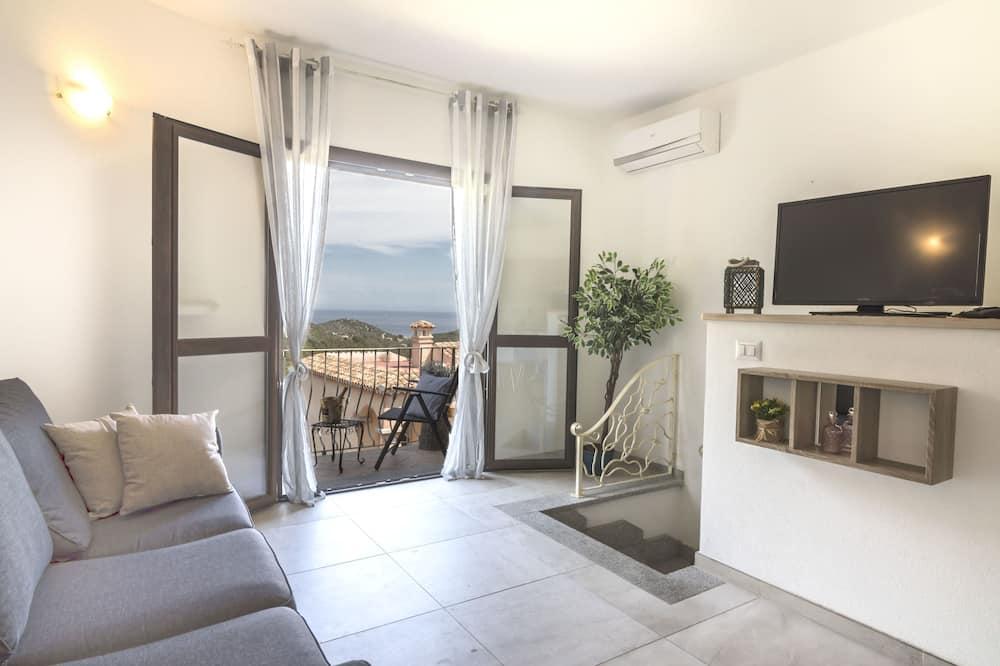 Luxury-Apartment, 2Schlafzimmer, Meerblick - Wohnbereich
