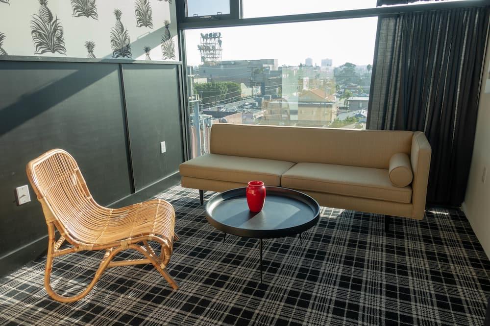 Signature Studio, City View - Living Area