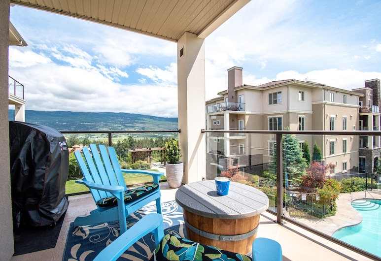 Pinnacle Pointe - By Vacations Kelowna, Kelowna, Condo, 3 Bedrooms, Terrace/Patio