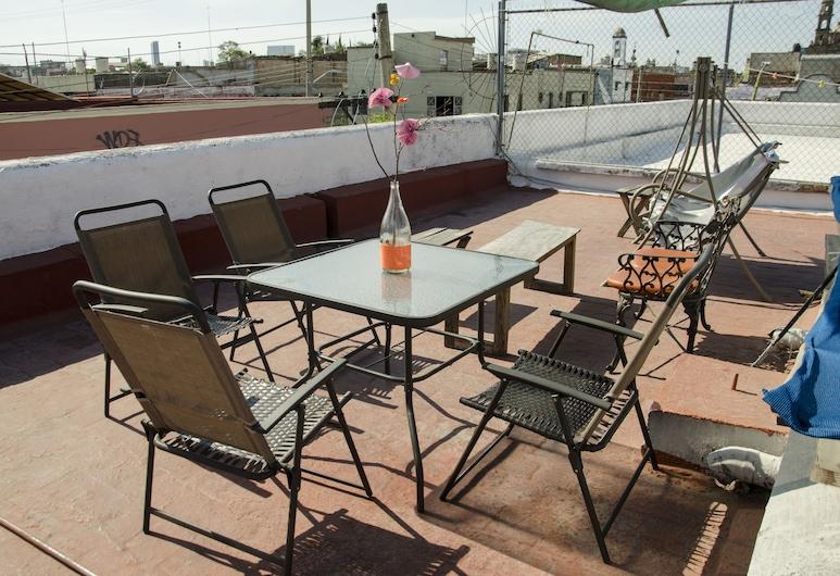 瑪麗亞博尼塔飯店, 瓜達拉哈拉, 露台