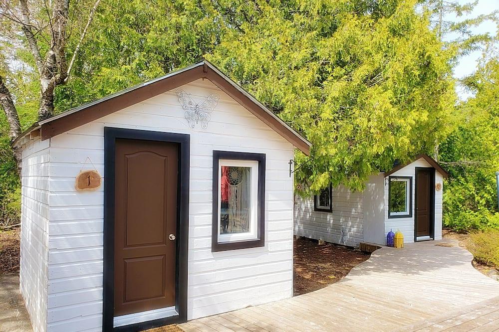 Cabin tiện nghi đơn giản, 1 giường cỡ queen, Quang cảnh sân vườn - Phòng