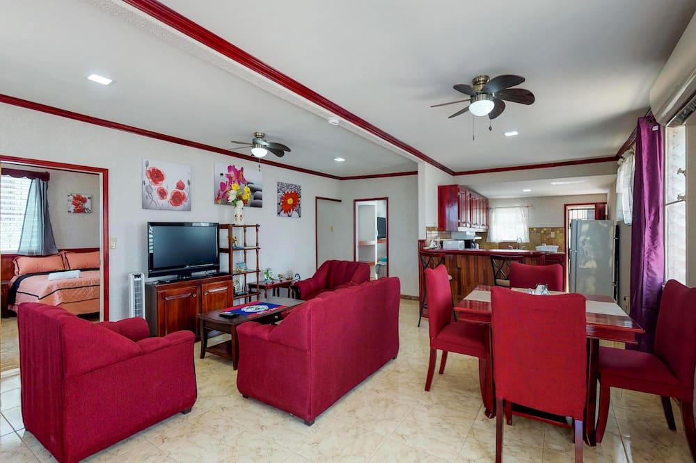 בית, 3 חדרי שינה, מרפסת (Suite @ Comodidades Delta) - אזור מגורים