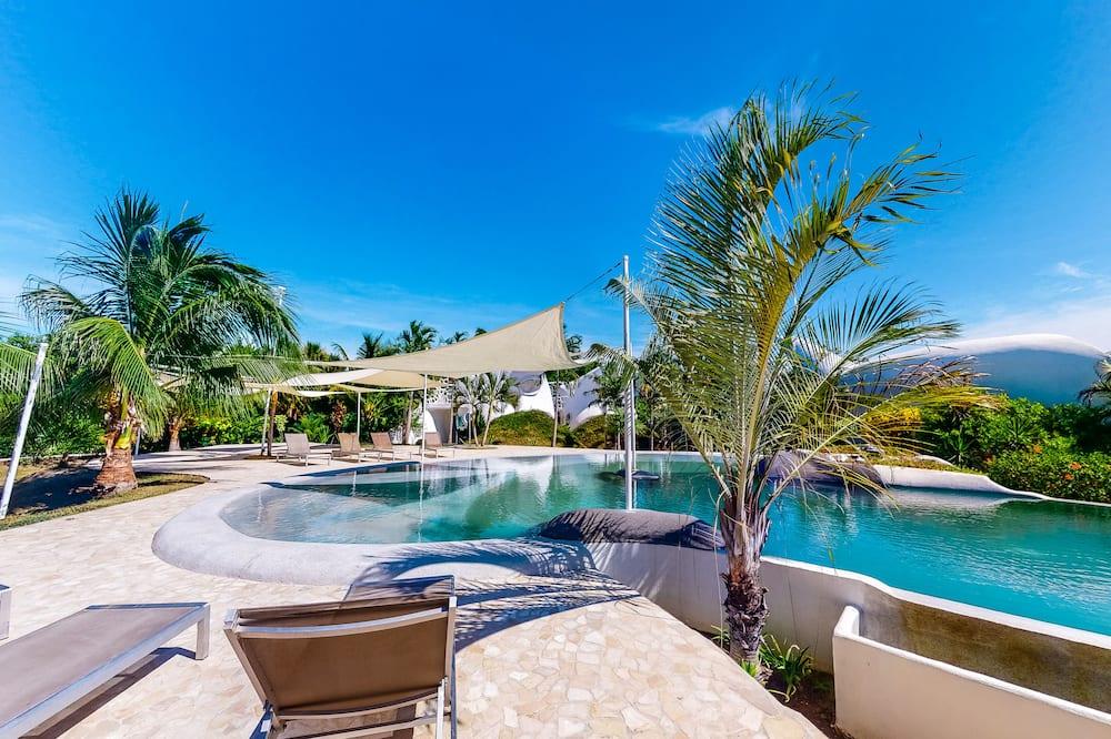 Apartamento em Condomínio Fechado, 2 Quartos, Vista Jardim (Lion Fish Retreat @ Swan Villas  *Gol) - Quarto