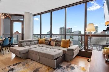 Obrázek hotelu Simply Comfort. Downtown Calgary Apts ve městě Calgary
