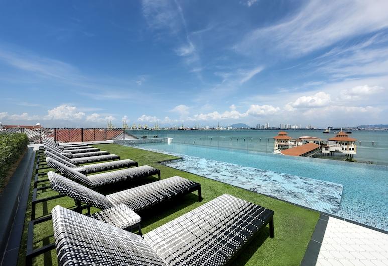 The Prestige Hotel Penang, George Town, Luxusný bazén
