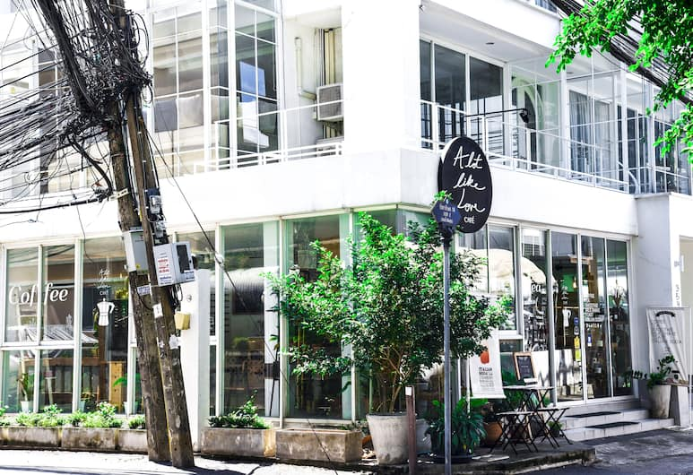 OHO Inn Ratchada, Bangkok, Innenhof