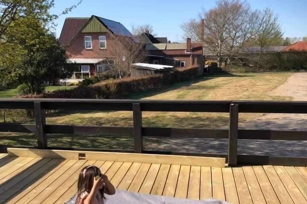 家庭公寓, 花園景 - 露台
