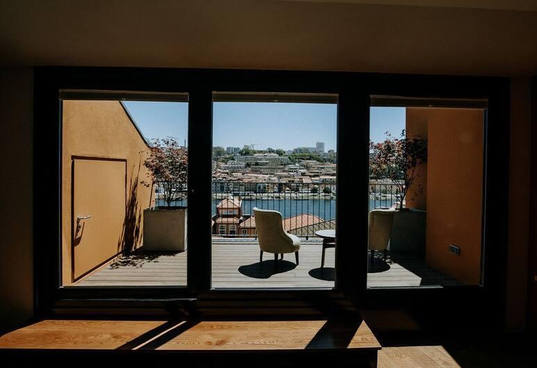 Exmo Hotel, Porto, Terrasse/veranda